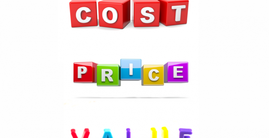 Cost, Price, and Value