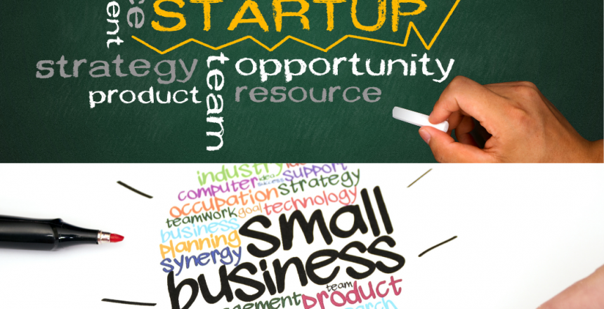 The differences between a startup and a small business
